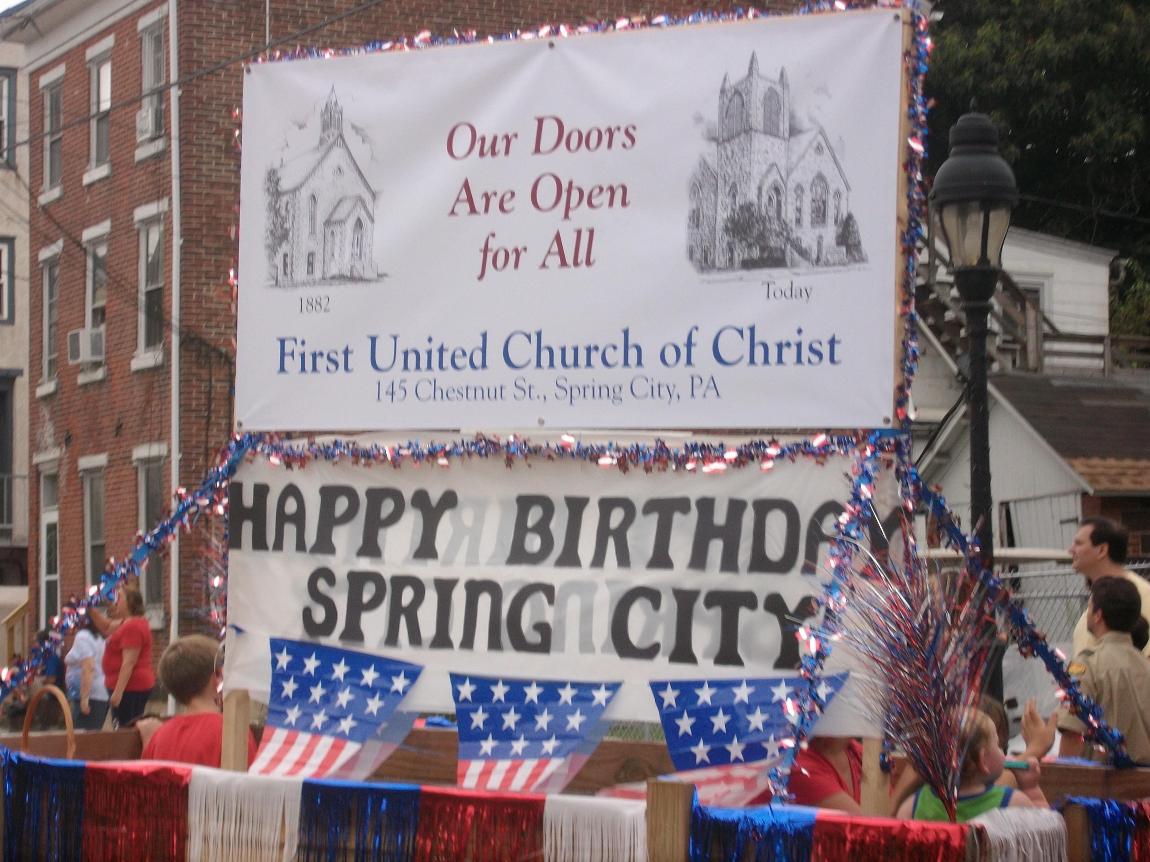 Sesquicentennial Parade